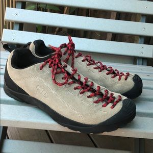 Keen Jasper suede leather hiking lace shoes